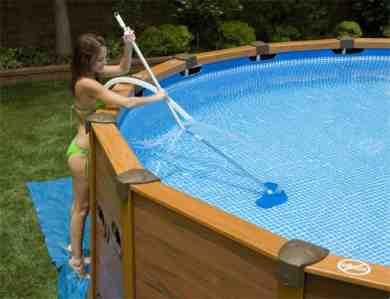 ¿Cómo mantener una pequeña piscina?